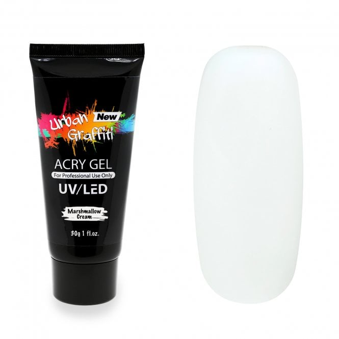 AcryGel Tube - Marshmallow Cream 30g