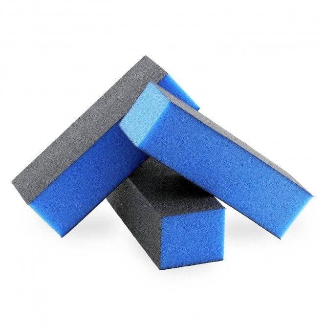 Blue Nail Sanding Buffing Block 3 Sided