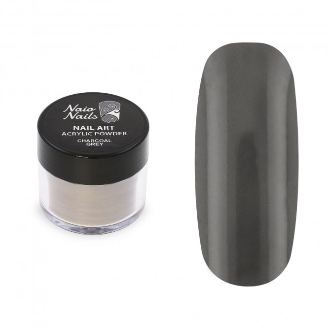 Charcoal Grey Acrylic Powder - 12g