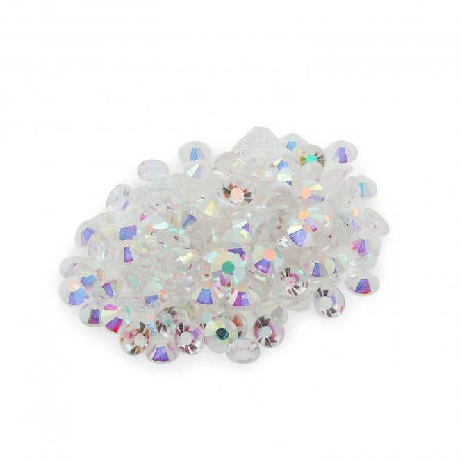 Clear AB Crystals - 4mm