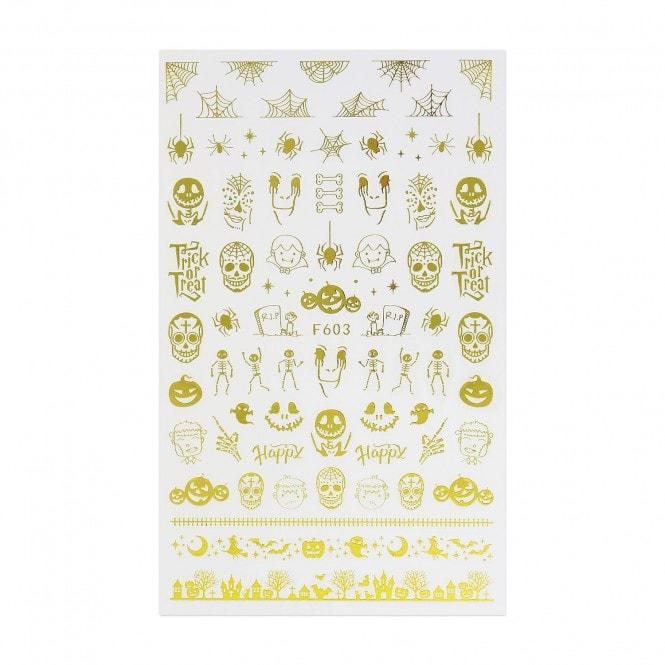 Halloween Stickers - Skulls & Skeletons