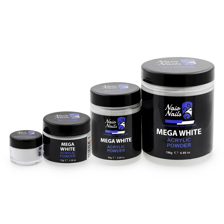 Mega White Acrylic Powder
