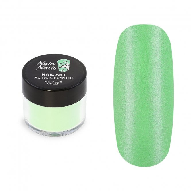 Metallic Green Acrylic Powder - 12g