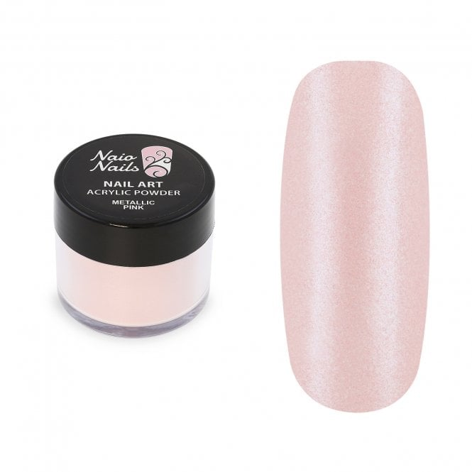 Metallic Pink Acrylic Powder - 12g
