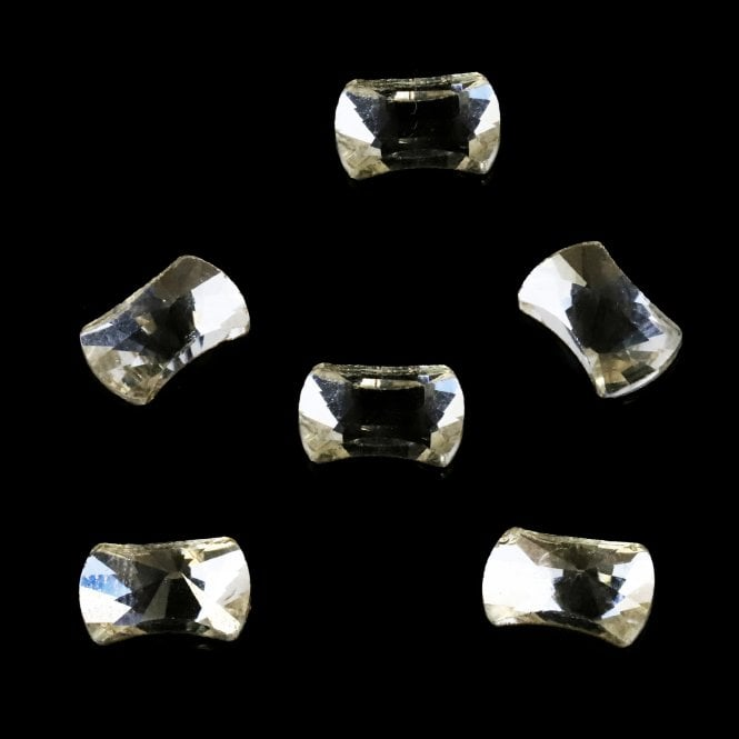 Pack of 6 Crystal Nail Art Gem Stones - H1032-14