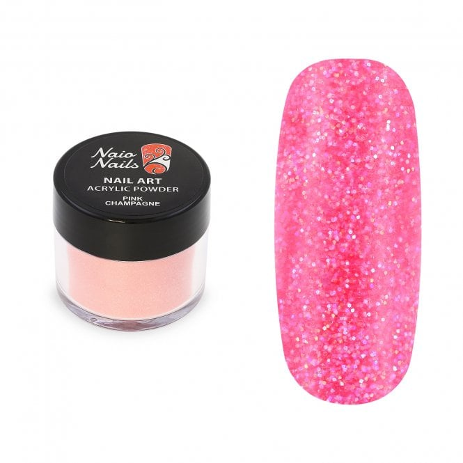 Pink Champagne Shimmer Acrylic Powder - 12g