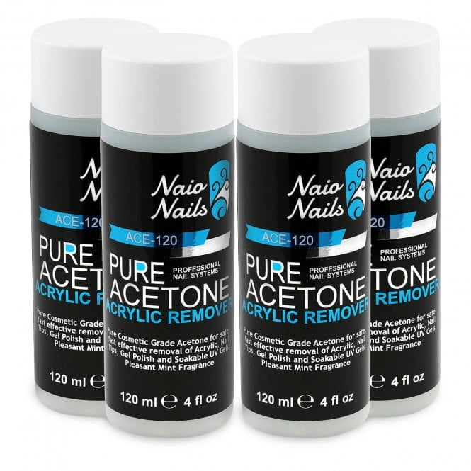 Pure Acetone - Acrylic Nail Remover - 480ml