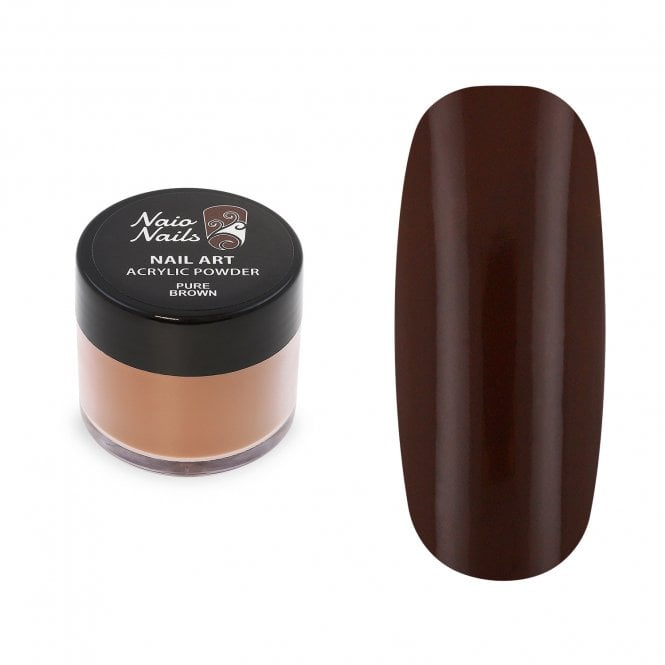 Pure Brown Acrylic Powder - 12g