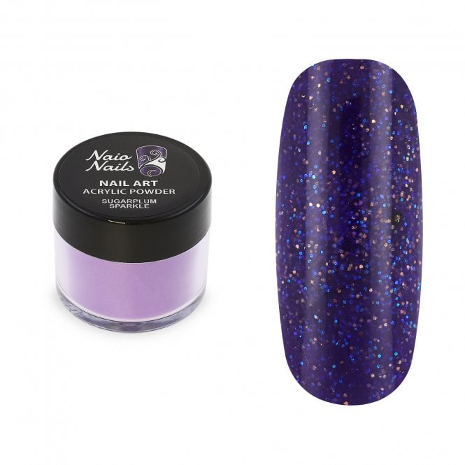 Sugarplum Sparkle Shimmer Acrylic Powder - 12g